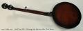 Gold Tone ML-1 Missing Link Baritone Bela Fleck Banjo Full Rear View