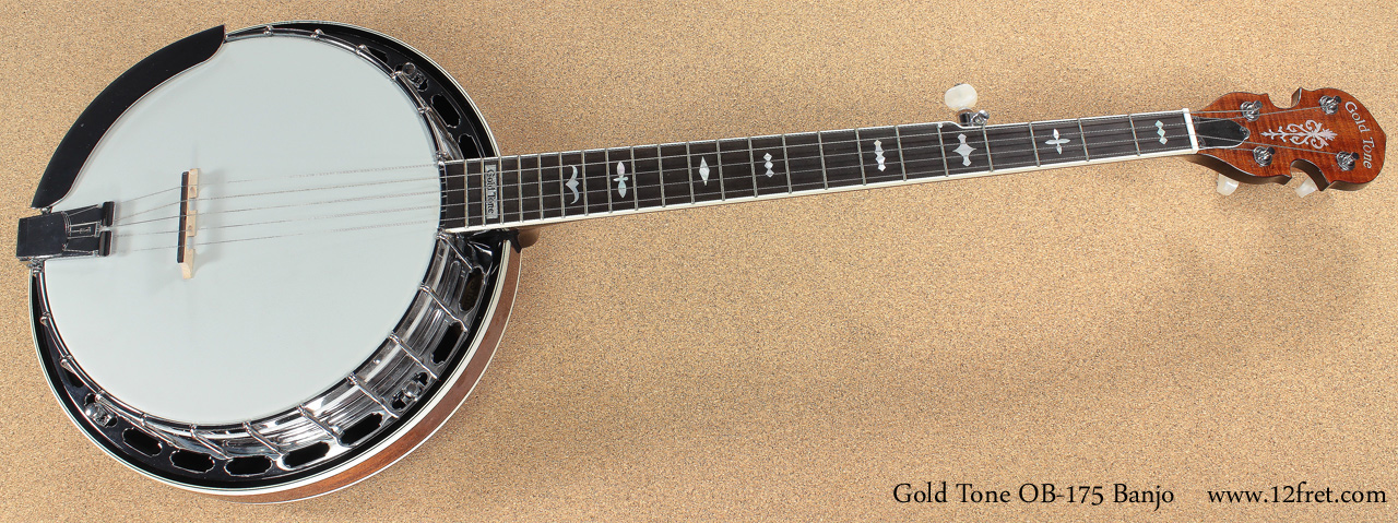 Gold Tone OB 157 and 257 Banjo full front view