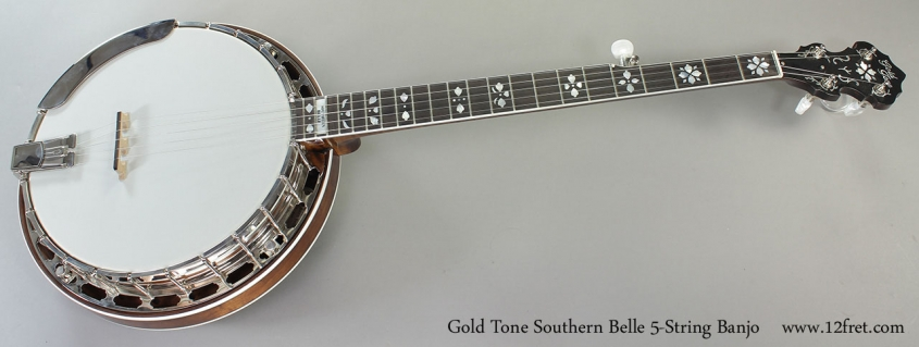 Gold Tone Southern Belle 5-String Banjo Full Front View