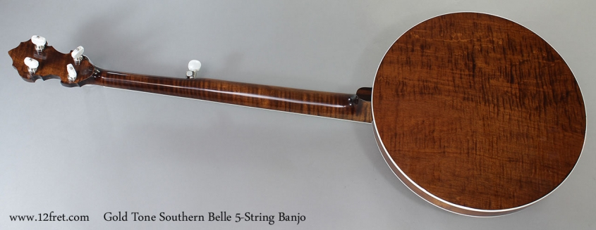 Gold Tone Southern Belle 5-String Banjo Full Rear VIew