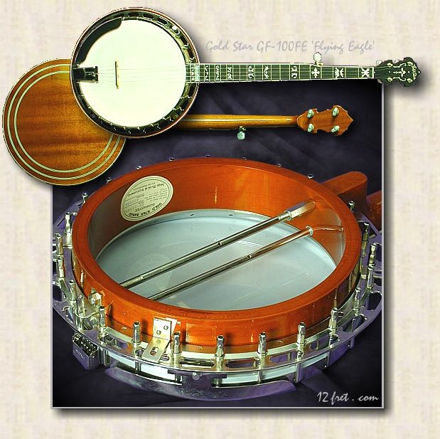 gold_star_GF-100FE_flying_eagle_banjo