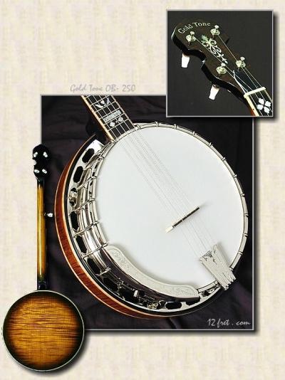 Gold_Tone_OB-250_sunburst_banjo
