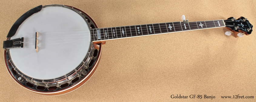 Goldstar GF-85 Banjo full front view