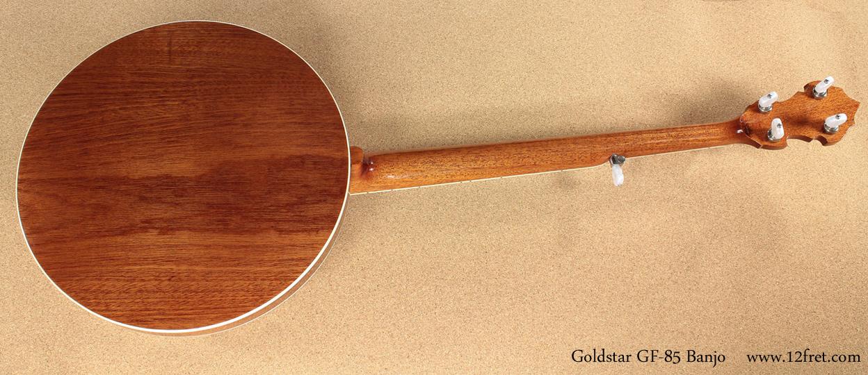 Goldstar GF-85 Banjo full rear view