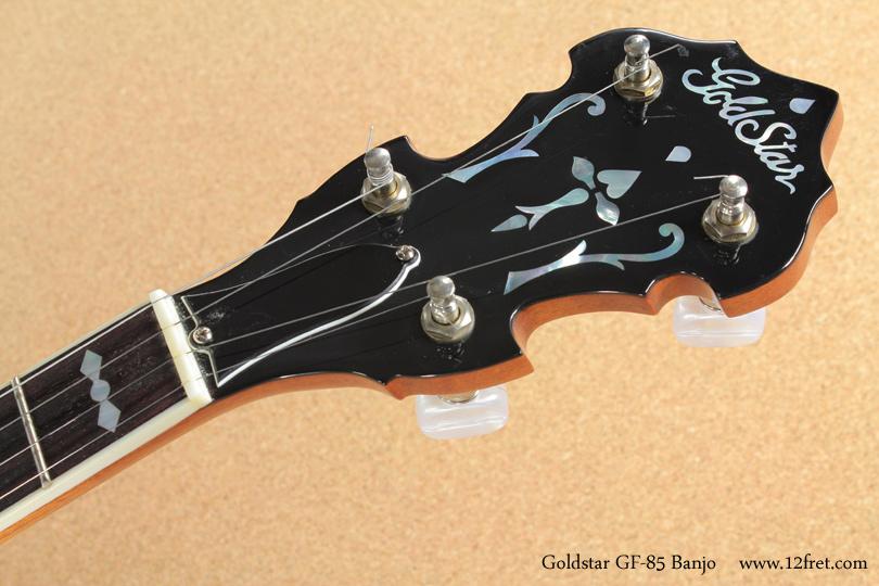 Goldstar GF-85 Banjo head front