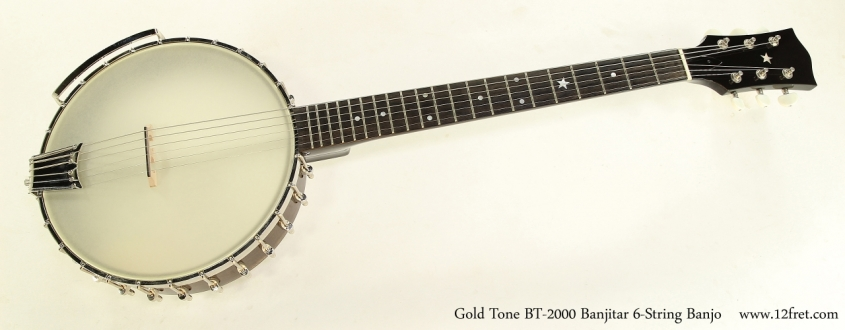 Gold Tone BT-2000 Banjitar 6-String Banjo Full Front VIew