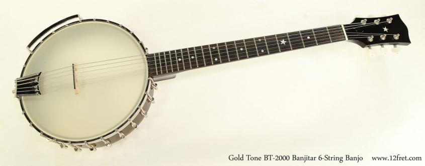 Gold Tone BT-2000 Banjitar 6-String Banjo Full Front VIew