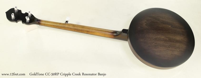 GoldTone CC-50RP Cripple Creek Resonator 5-String Banjo  Full  Rear View