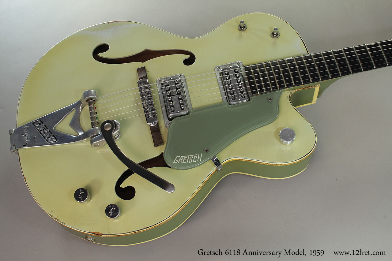 Gretsch 6118 Anniversary Model, 1959 Top