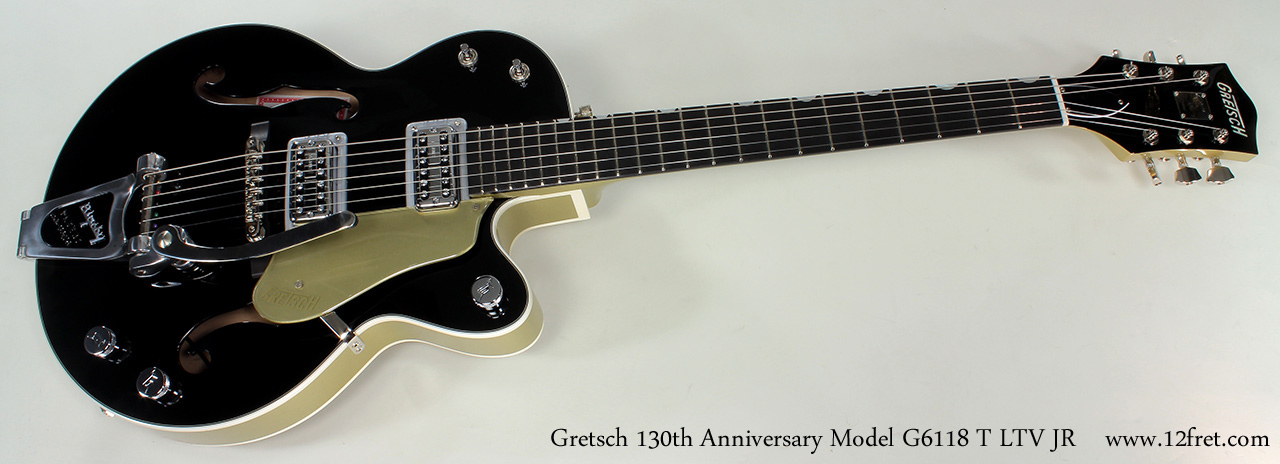 Gretsch 130th Anniversary Junior G6118T LTV JR full front view
