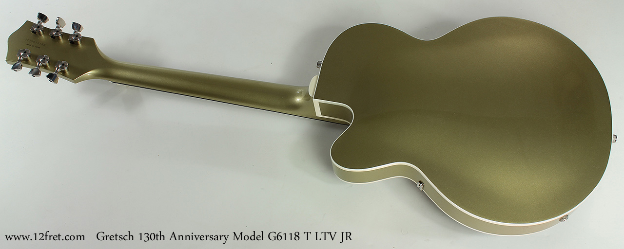 Gretsch 130th Anniversary Junior G6118T LTV JR full rear view