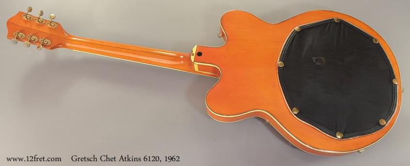 Gretsch Chet Atkins 6120, 1962 full rear view