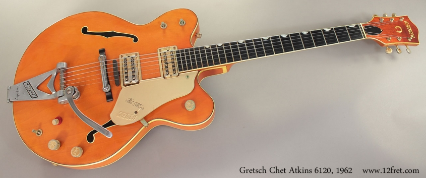 Gretsch Chet Atkins 6120, 1962 full front view