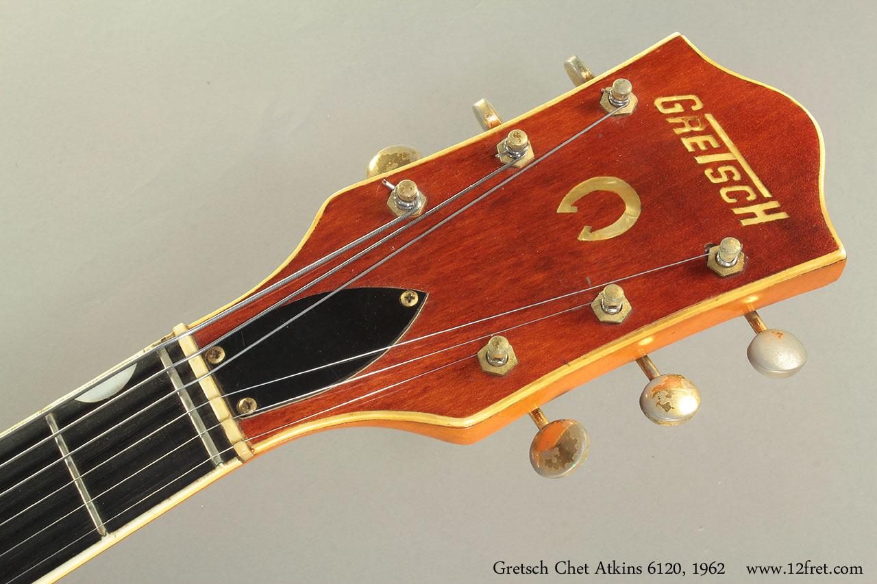 Gretsch Chet Atkins 6120, 1962 head front