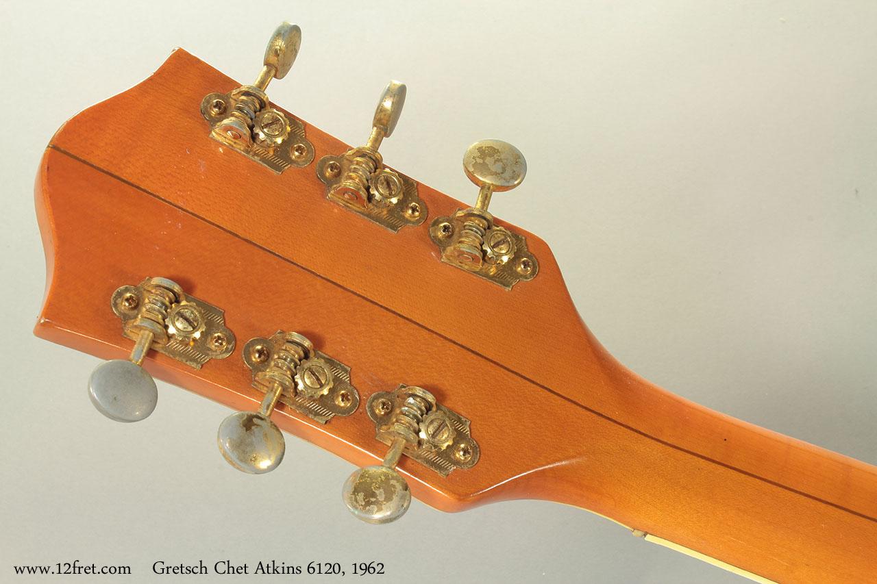Gretsch Chet Atkins 6120, 1962 head rear