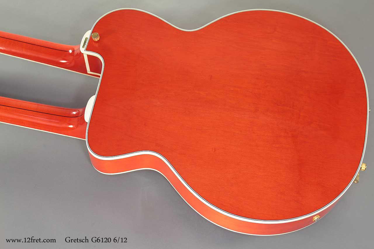 Gretsch Nashville G6120 6 - 12 Doubleneck  back