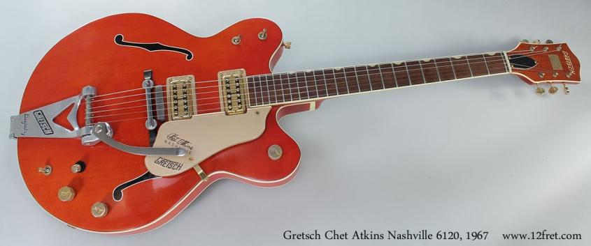 Gretsch Chet Atkins Nashville 6120, 1967 Full Front View