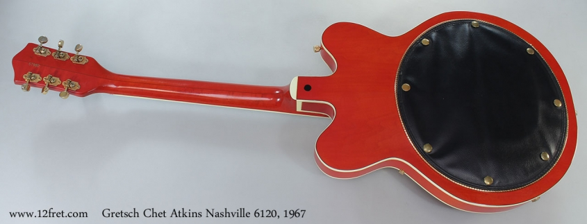 Gretsch Chet Atkins Nashville 6120, 1967 Full Rear View