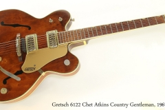 Gretsch 6122 Chet Atkins Country Gentleman, 1967 Full Front View