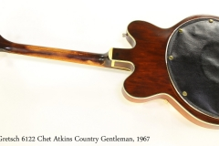 Gretsch 6122 Chet Atkins Country Gentleman, 1967 Full Rear View
