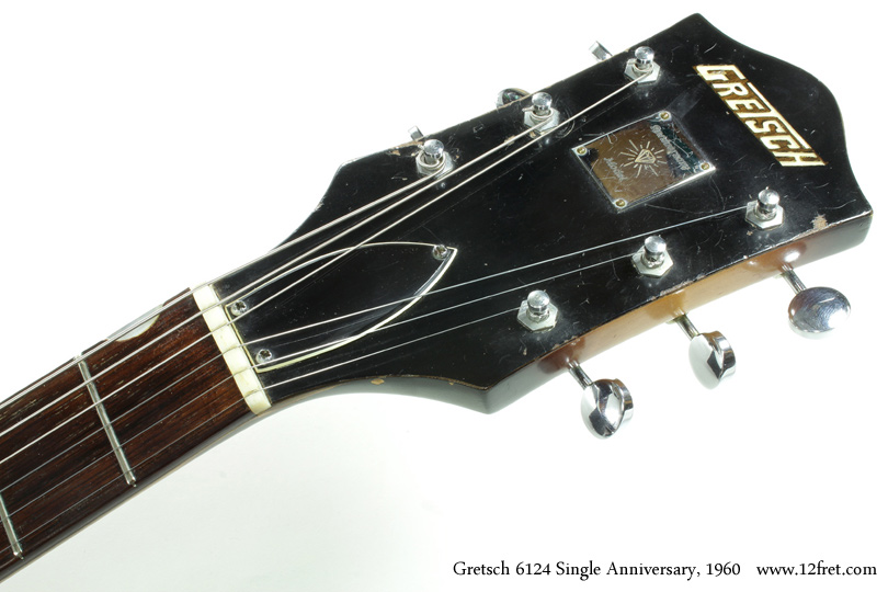 Gretsch 6124 Single Anniversary 1960 head front