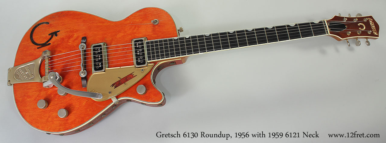 Gretsch 6130 Roundup 1956 With 1959 6121 Chet Atkins Neck Full Front View