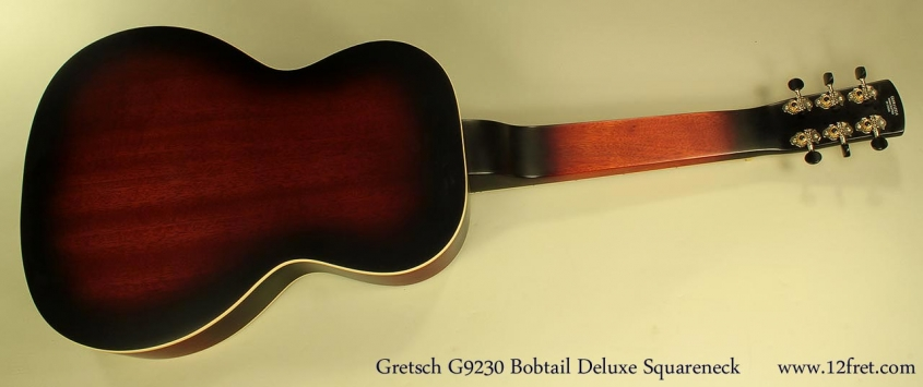 Gretsch G9230 'Bobtail Deluxe' Resonator Full Rear View