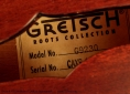 Gretsch G9230 'Bobtail Deluxe' Resonator Label View