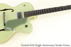 Gretsch 6125 Single Anniversary Smoke Green, 1959 Full Front View