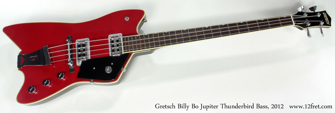 Gretsch G6199B Billy Bo Jupiter Thunderbird Bass 2012 full front view