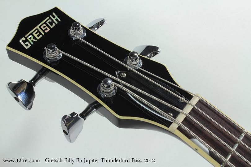 Gretsch G6199B Billy Bo Jupiter Thunderbird Bass 2012 head front