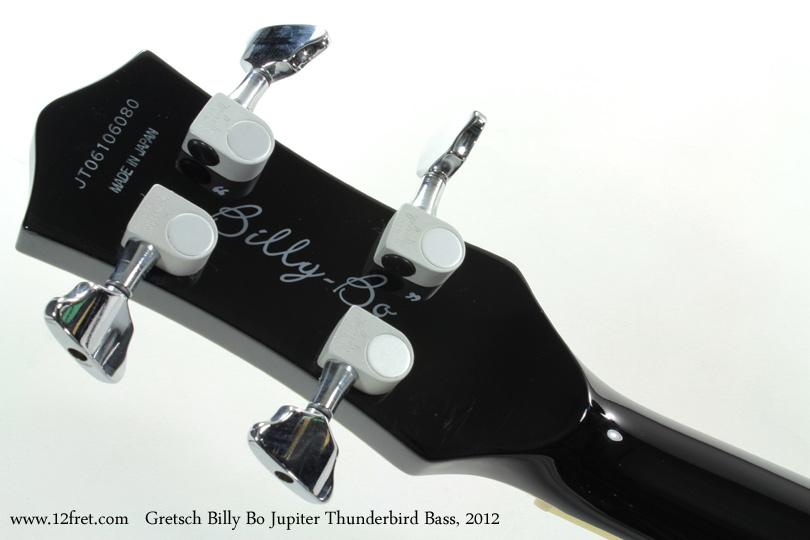 Gretsch G6199B Billy Bo Jupiter Thunderbird Bass 2012 head rear