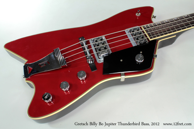 Gretsch G6199B Billy Bo Jupiter Thunderbird Bass 2012 top 2