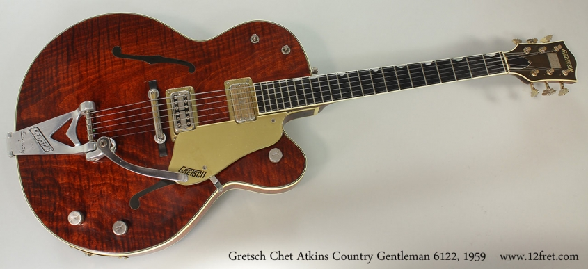 Gretsch Chet Atkins Country Gentleman 6122, 1959 Full Front View