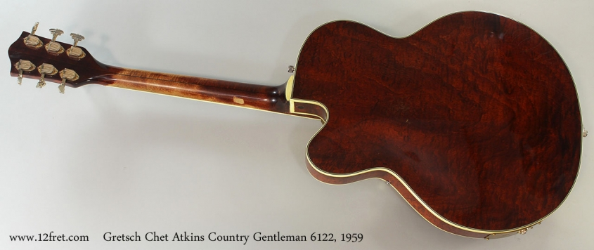 Gretsch Chet Atkins Country Gentleman 6122, 1959 Full Rear View