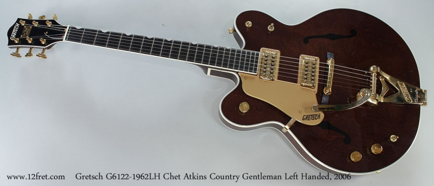 Gretsch G6122-1962LH Chet Atkins Country Gentleman Left Handed, 2006 Full Front View