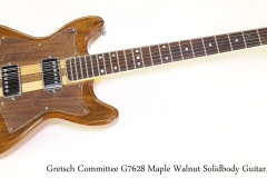 Gretsch Committee G7628 Maple Walnut Solidbody Guitar, 1978 Full Front View