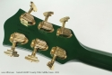 Gretsch G6196T Country Club Cadillac Green 2013 head rear view