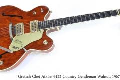 Gretsch Chet Atkins 6122 Country Gentleman Walnut, 1967 Full Front View