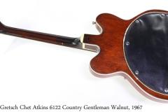 Gretsch Chet Atkins 6122 Country Gentleman Walnut, 1967 Full Rear View