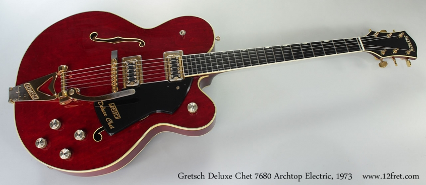 Gretsch Deluxe Chet 7680 Archtop Electric, 1973 Full Front View