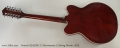 Gretsch G5422DC-12 Electromatic 12 String Electric, 2012 Full Rear View