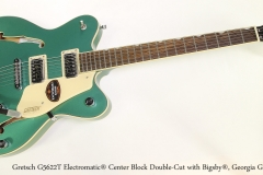 Gretsch G5622T Electromatic® Center Block Double-Cut with Bigsby®, Georgia Green  Full Front VIew