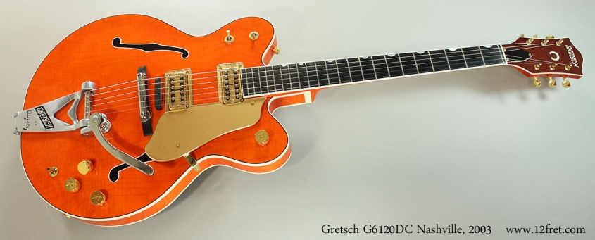 Gretsch G6120DC Nashville, 2003 Full Front View