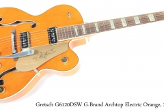 Gretsch G6120DSW G-Brand Archtop Electric Orange, 2006 Full Front View