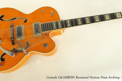 Gretsch G6120RHH Reverend Horton Heat Archtop, 2005   Full Front View