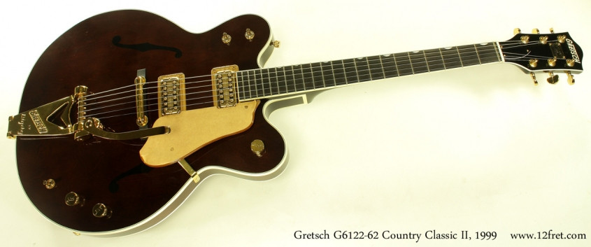 Gretsch G6122-1962 Country Classic II 1999 full front view