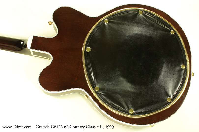 Gretsch G6122-1962 Country Classic II 1999 back