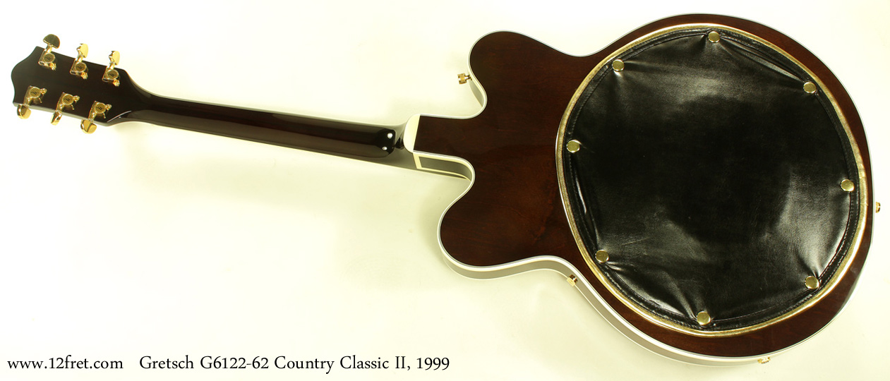 Gretsch G6122-1962 Country Classic II 1999 full rear view