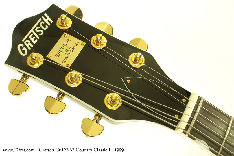 Gretsch G6122-1962 Country Classic II 1999 head front